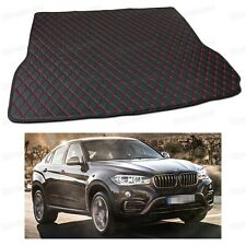 PU Leather Car Trunk Mat Cargo Pad Carpet Fit for BMW X6 2015 2016 2017