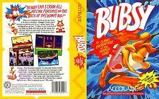 Bubsy Sega Mega Drive Genesis Replacement Art Insert Replacement For Box