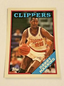 1993 Topps Archives Basketball #106 - Danny Manning - Los Angeles Clippers