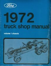1972 Ford Truck Shop Manual-All Models-2 Book Set