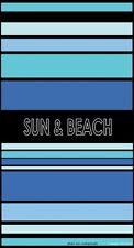 Serviette de plage jacquard Chic bleu sun & beach 95X175 cm JQ93