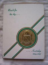 1987 KENTRIDGE HIGH SCHOOL YEARBOOK, KENT, WASHINGTON THE ACCOLADE UNMARKED!