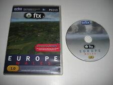 ORBX FTX EUROPE WALES Pc Add-On Microsoft Flight Simulator X FSX Prepar3D