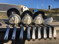 Powerbilt Nicklaus Ginty MRH Complete Golf Club Set #1106TM4