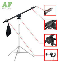 Photo Studio Overhead Boom Arm Top Light Stand with Grip Head for Light Softbox