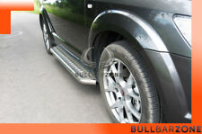 FIAT FREEMONT 2008+ MARCHE-PIEDS INOX PLAT / PROTECTIONS LATERALES