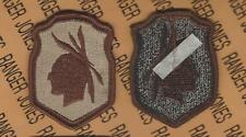 US Army 98th Infantry Division Desert DCU uniform patch m/e