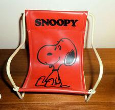 Peanuts SNOOPY Mini LAWN CHAIR 1958 Mfg. Japan CUTE!