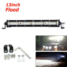 12D Slim 13inch 180W Cree Car Light Flood LED Work Light Bar Auto Driving Lamp