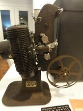 Vintage Bell & Howell Filmo 8 Model 122-A 8mm Projector w/ Case & Manual, 1930's