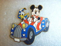 Disney's Americana Deluxe Starter Set Donald & Mickey in Patriotic Car Pin Only