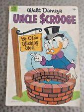 Dell, Walt Disney's Uncle Scrooge, No.7, Carl Barks, Sept-Nov.,1954, Good.