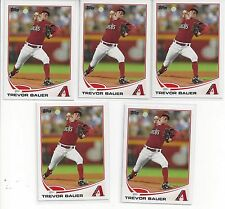 Trevor Bauer Lot of 5 Same Card 2013 Topps Diamondbacks 802