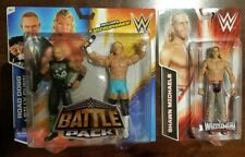 WWE LOT OF 2 DX ROAD DOGG + BILLY GUNN BATTLE PACK 36 + SHAWN MICHAELS HERITAGE