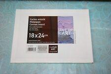 4 Cartons Entoilés Love-Art Dimensions:18 x 24 cm NEUF sous Blister BG