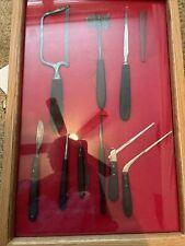 civil war medical instrument lot + case original Authentic Items Ships Fast