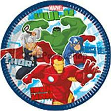 Avengers Birthday Party - 8 Plates 23cm - Free Postage in UK