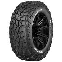 35x12.50R15LT Cooper Discoverer STT Pro 113Q C/6 Ply White Letter Tire