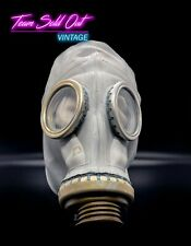 New Gray Soviet Russian Military Ussr Gas Mask 0y Xsmall Gp 5 Rubber Cff3 Ppe