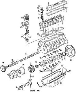 Genuine Ford Camshaft Gear E1TZ-6256-A