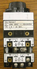 7024ACT Agastat Relay 1.5-15sec. 120V 60Hz