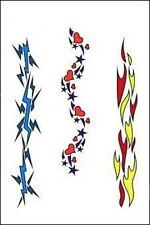 Totally Tattoo Party Art Airbrush Stencils, Armband 1