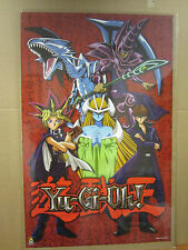 vintage Gi-Oh! Poster original poster cartoon classic 1996  2311