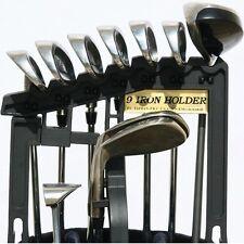 Golf Bag Iron Club Holder Stacker Organizer | Holds 9 Irons Above Bag FREE SHIP!