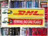 Keyring DHL Aviation Remove Before Flight keychain for pilot Cargo Plane
