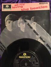 The Beatles - All My Loving - E.P. - 1963 First Press 1N/1N - high res photos