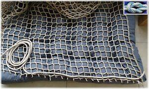 Kletternetz, Hängematte 1,5M BREITE METERWARE Schutznetz, Hängesessel, Spielnetz