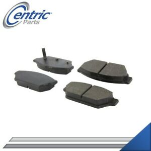 REAR SEMI-METALLIC BRAKE PADS LEFT & RIGHT SET FOR 1993-1994 PLYMOUTH COLT