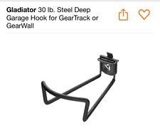 30 lb. Steel Deep Garage Hook for GearTrack or GearWall By Gladiator