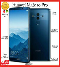 """HUAWEi Mate 10 PRO DUAL SIM 128GB *UNLOCKED* 6.0"""" 6GB ANDROID Smartphone A++"""