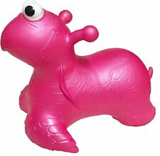 Ride On Hopper Bouncing inflatable Pink Turtle BOUNCE ALONG Bouncy Animal