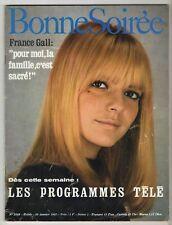 ►BONNE SOIREE 2346 - 1967 - FRANCE GALL - ALAIN DELON