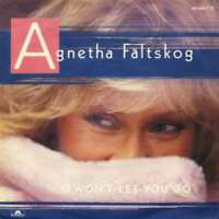 "Agnetha Fältskog I Won't Let You Go 7"" Single Vinyl Schallplatte 55685"
