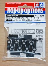 Tamiya 54869 Open Face 5mm Reinforced Adjusters (Long/8 Pcs.) (TRF418/TRF419)