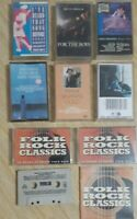 Cassette Tapes Lot Folk Rock Sinatra Better Midler Linda Ronstadt Carole King