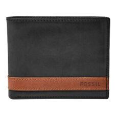 Fossil ML3644 - Quinn Flip ID Bifold Wallet - Black 001