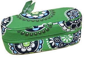 Vera Bradley Zip Sunglass Case in Cupcakes Green