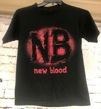 WCW New Blood Vintage Wrestling Tshirt Our Time Is Now Size Small