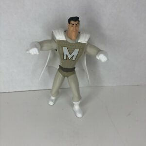 Megamind Metro Man Action Figure Toy McDonald's 2010 Happy Meal Dreamworks White
