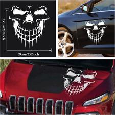 Skull Skeleton Hood Decal Rear Vinyl Side Door Sticker For Car Truck Boat Window