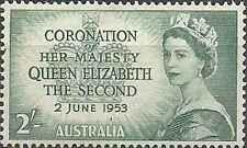Timbre Famille royale Australie 201 * lot 6473