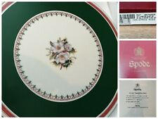 More details for spode christmas rose round place mats x 6 boxed made in england collectors table
