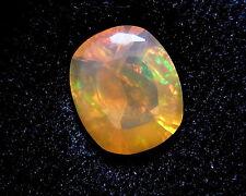 Feueropal  buntes Farbfeuer 4,06 Karat Mexiko mexican opal     koxgems