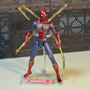 "Marvel Avengers Infinity War Endgame Iron Spiderman Spider-Man 7"" Action Figure"