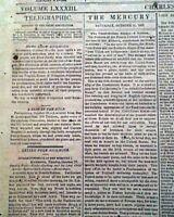 Rare CONFEDERATE Charleston SC w/ Battle of Chickamauga 1863 Civil War Newspaper