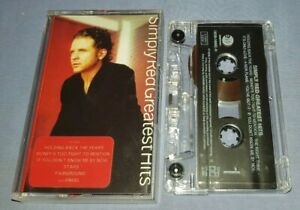 SIMPLY RED GREATEST HITS cassette tape album A1582